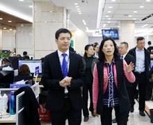 重庆政府领导莅临参指导工作